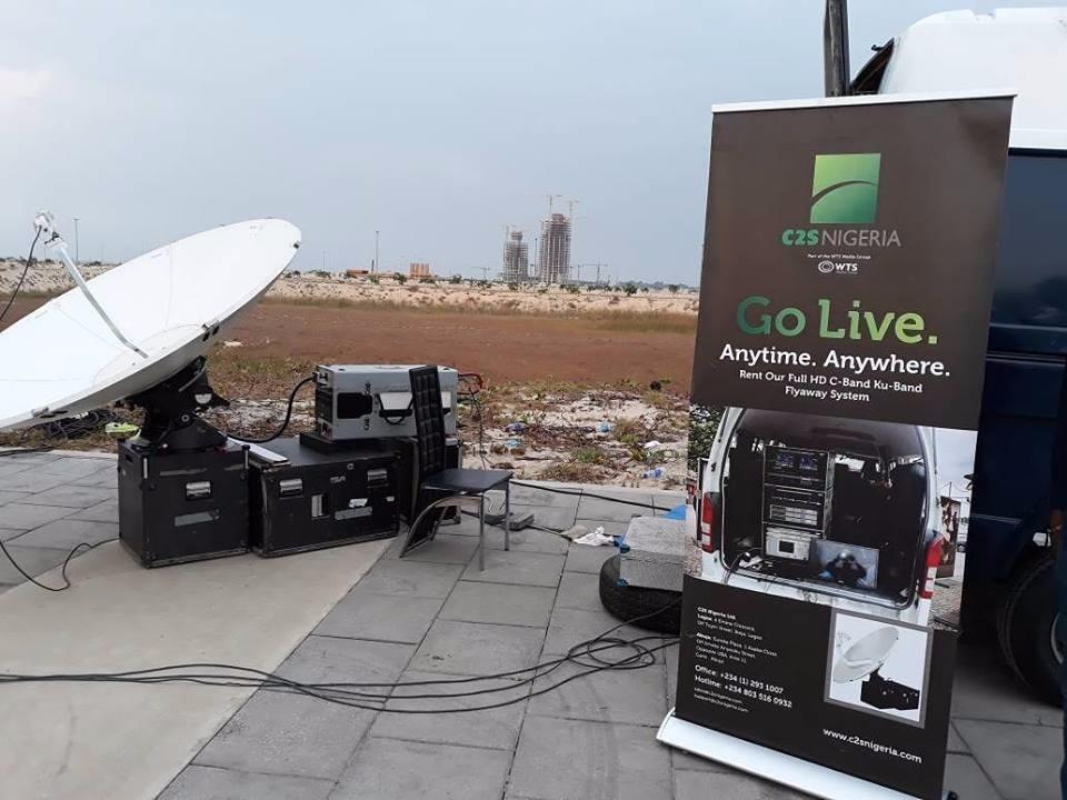DSNG-Uplink-Flyaway-System