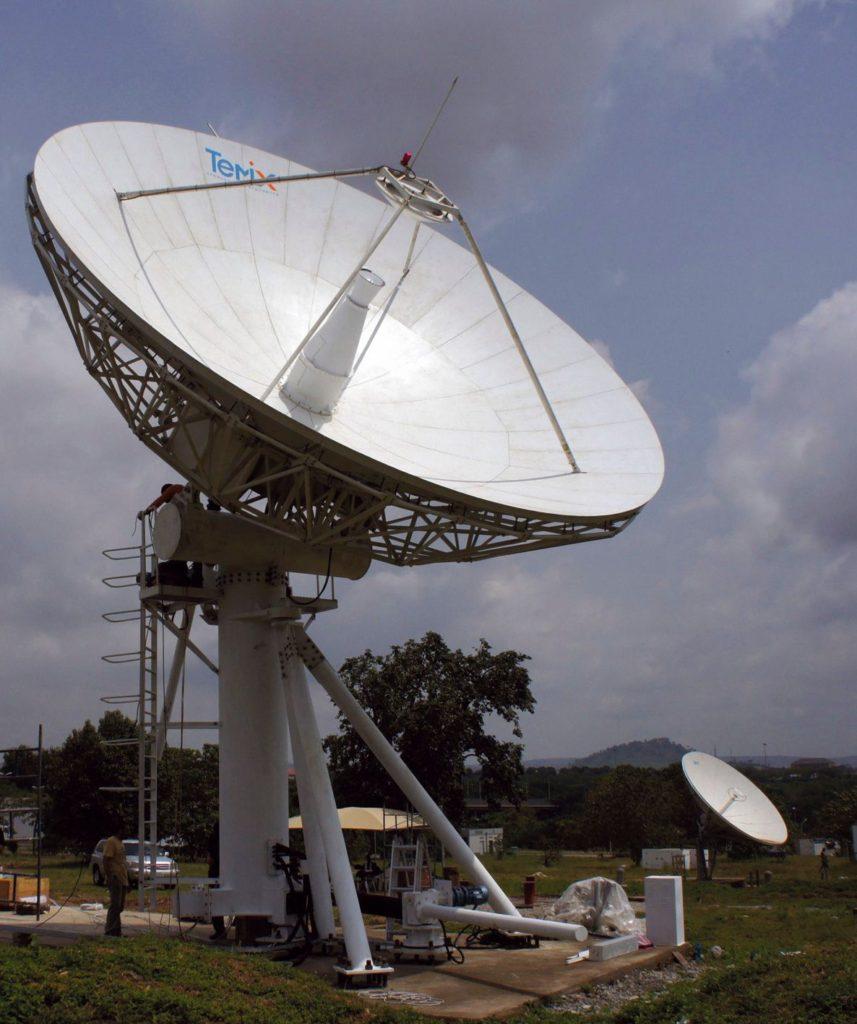 Uplink Satellite Antenna